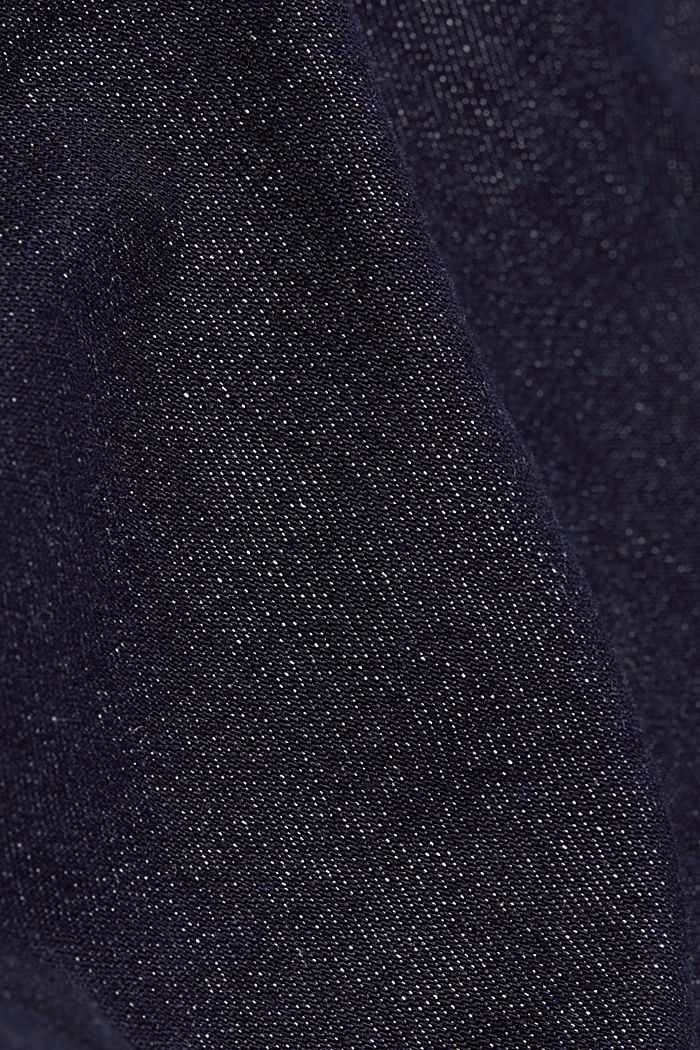 Stretch jeans containing organic cotton, BLUE RINSE, detail image number 4