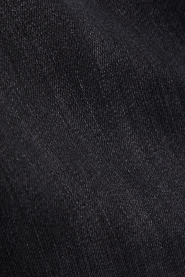 Organic cotton jeans with recycled material, GREY MEDIUM WASHED, detail image number 4