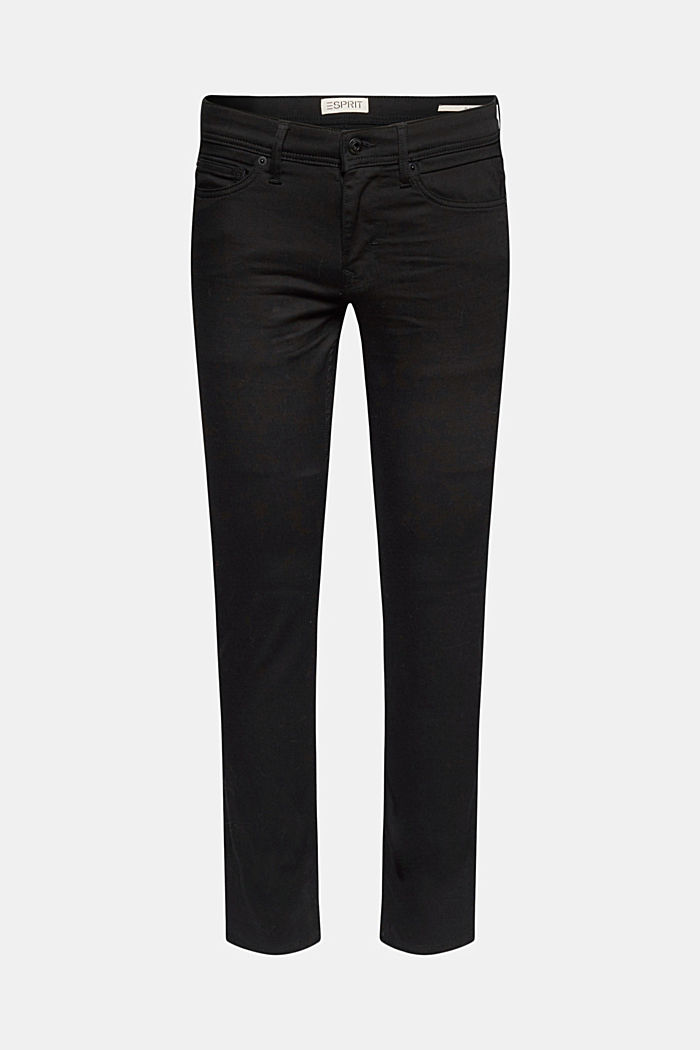 Stretch-Jeans mit Organic Cotton, BLACK RINSE, detail image number 6