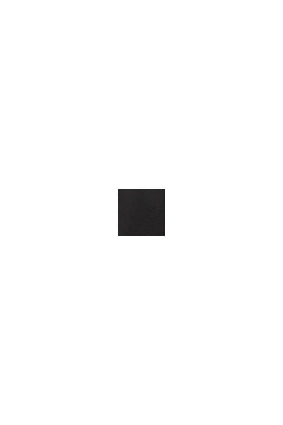 Shorts med ekobomull, BLACK, swatch