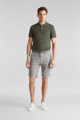 Shorts with organic cotton, MEDIUM GREY, detail