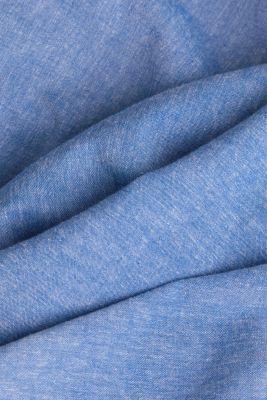 With linen: short-sleeved shirt, LIGHT BLUE 5, detail
