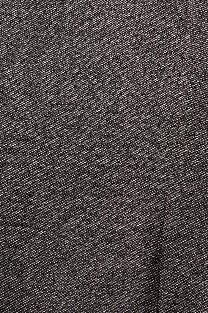 Sports jacket in a piqué finish, DARK GREY, detail image number 4