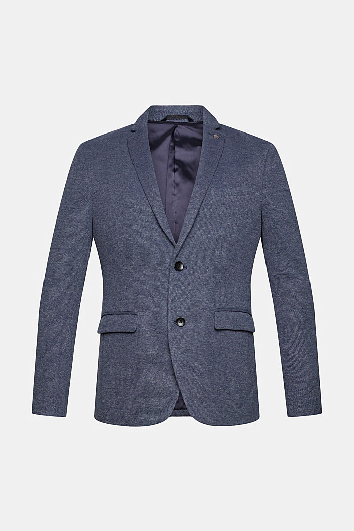 Sports jacket in a piqué finish