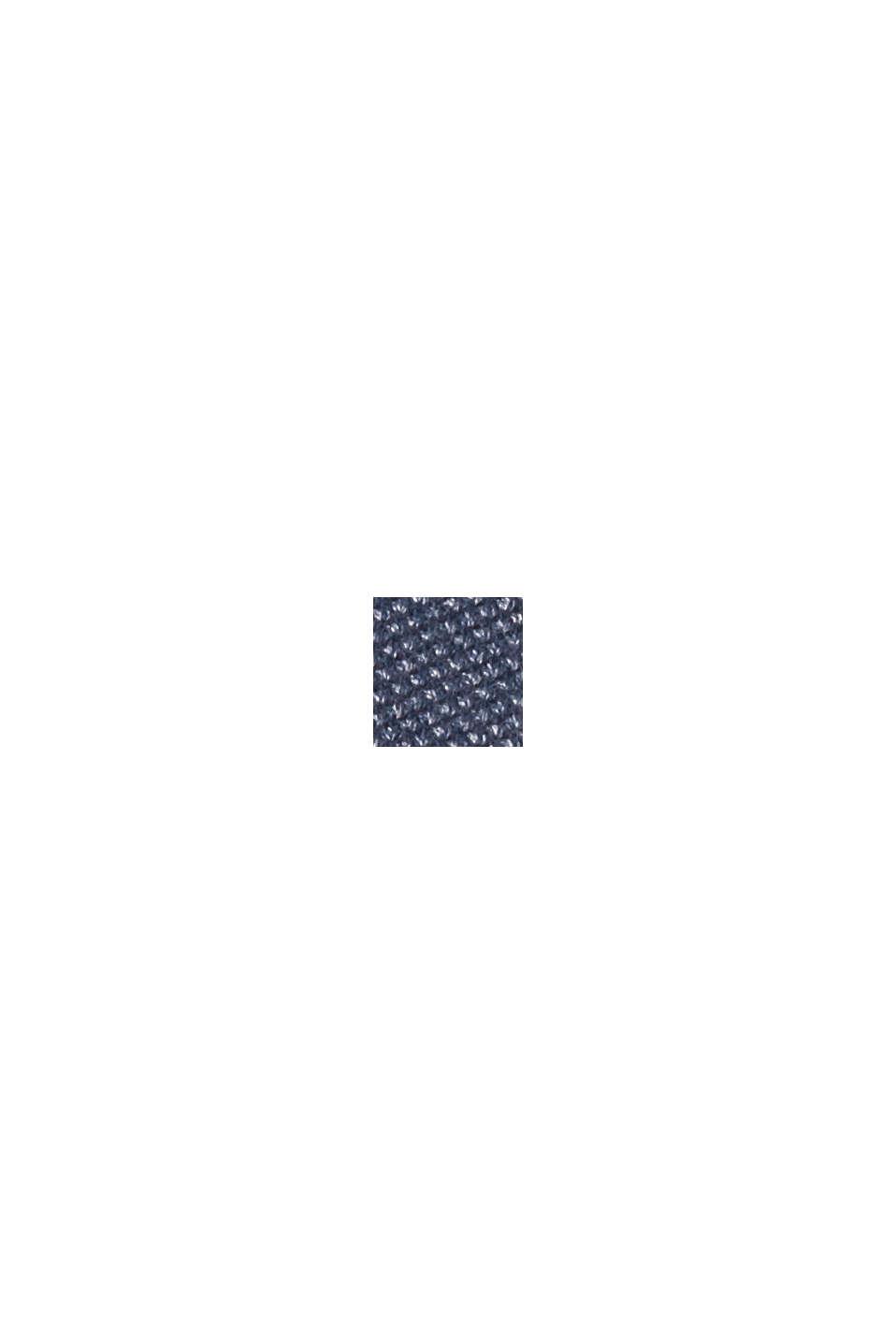 Veston d'aspect maille piquée, GREY BLUE, swatch