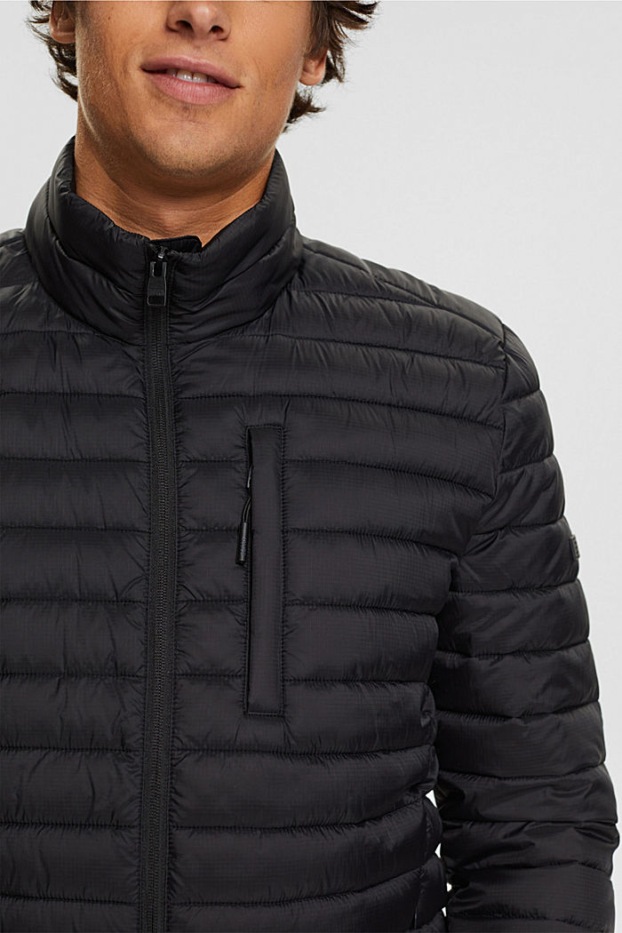 Quilted jacket with 3M™ Thinsulate™ filling, BLACK, detail image number 2