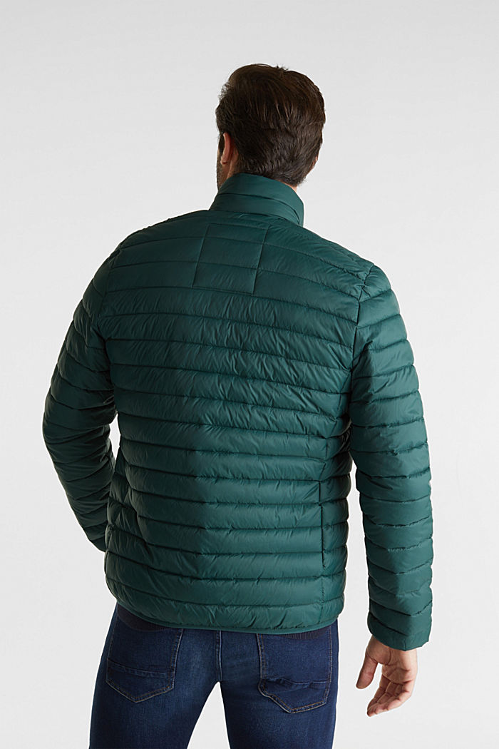 Quilted jacket with 3M™ Thinsulate™ filling, DARK GREEN, detail image number 3