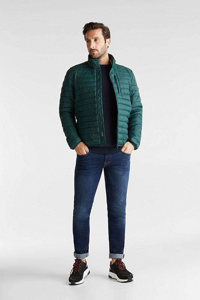 Quilted jacket with 3M™ Thinsulate™ filling, DARK GREEN, detail image number 1