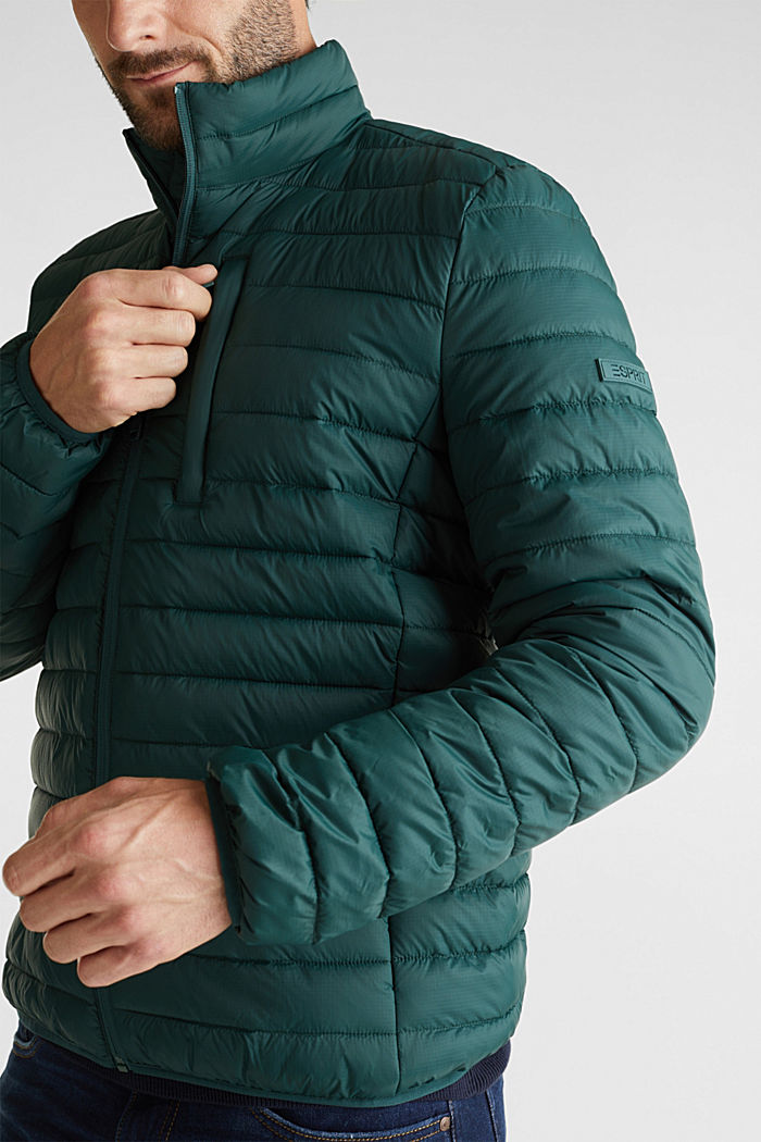 Quilted jacket with 3M™ Thinsulate™ filling, DARK GREEN, detail image number 6