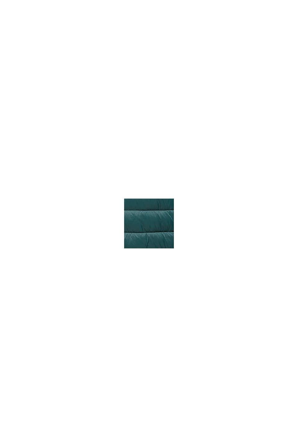 Gerecycled: gewatteerde jas met 3M™ Thinsulate™, DARK GREEN, swatch