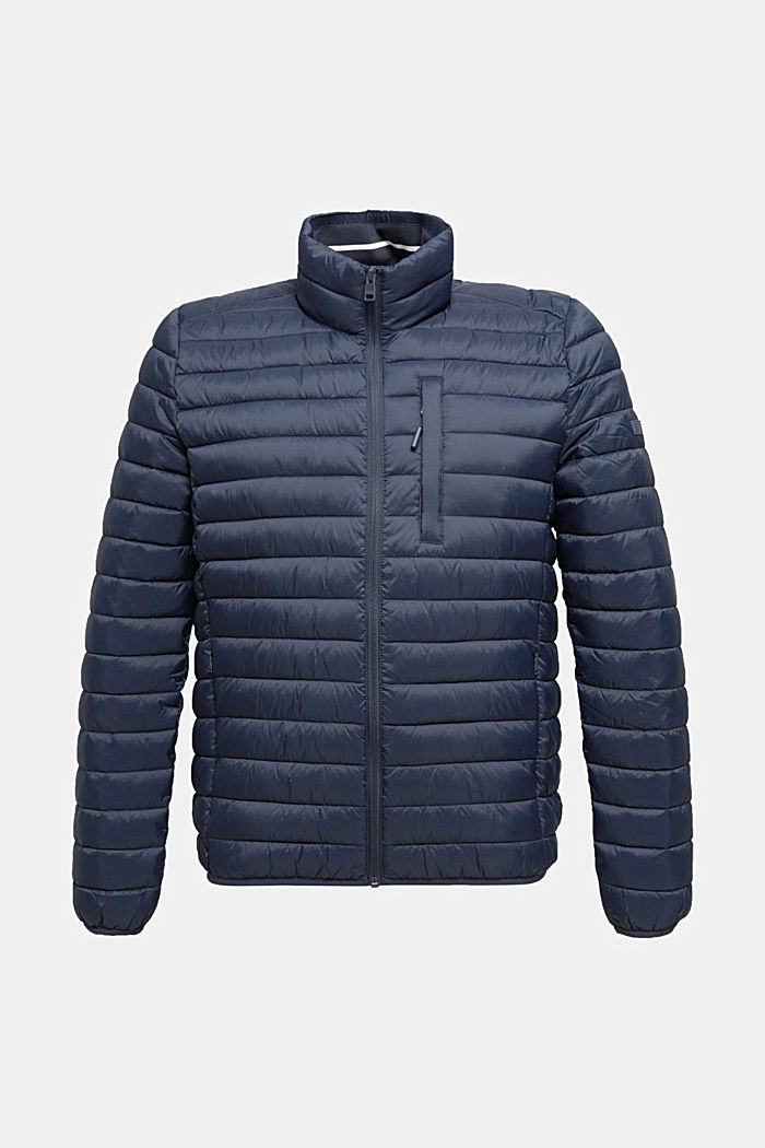 Quilted jacket with 3M™ Thinsulate™ filling, DARK BLUE, detail image number 7