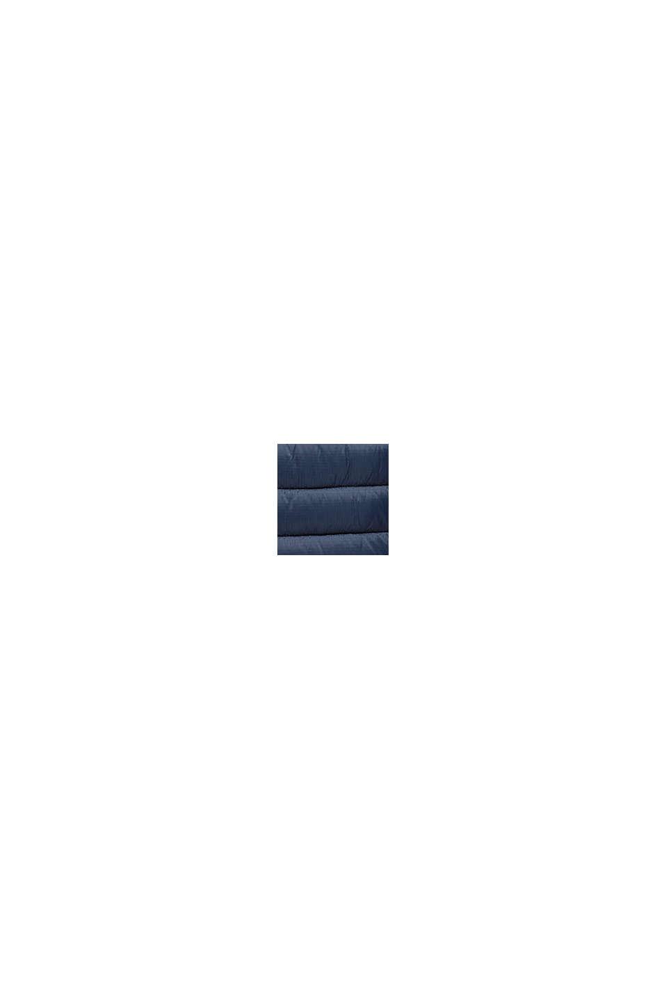 Gerecycled: gewatteerde jas met 3M™ Thinsulate™, DARK BLUE, swatch