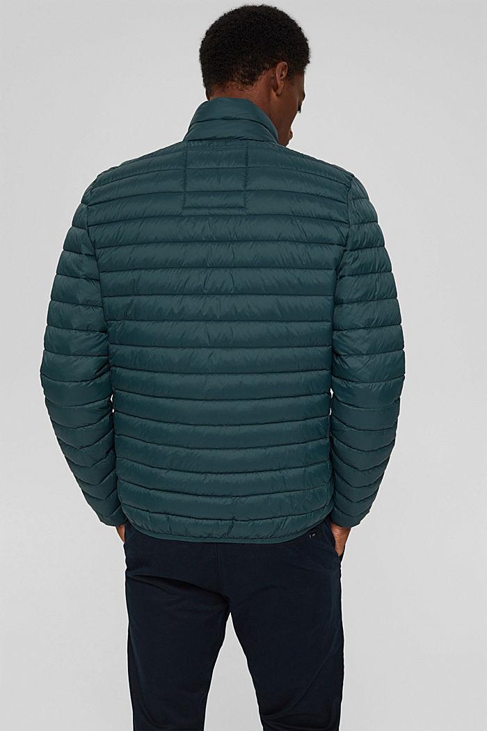 Gerecycled: gewatteerde jas met 3M™ Thinsulate™, TEAL BLUE, detail image number 3