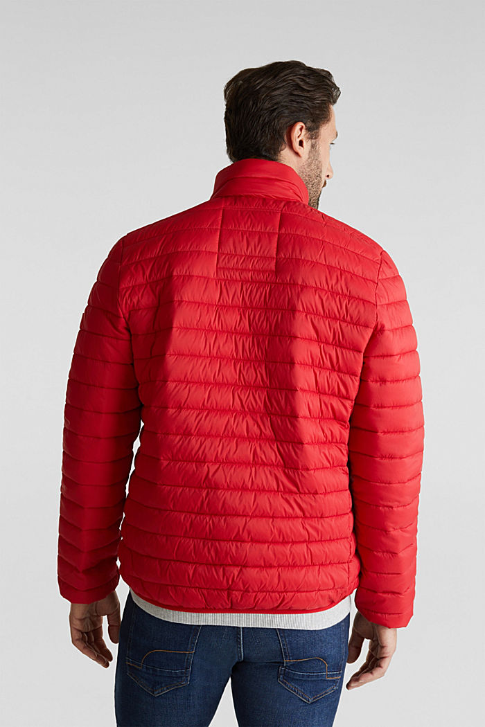 Quilted jacket with 3M™ Thinsulate™ filling, RED, detail image number 3