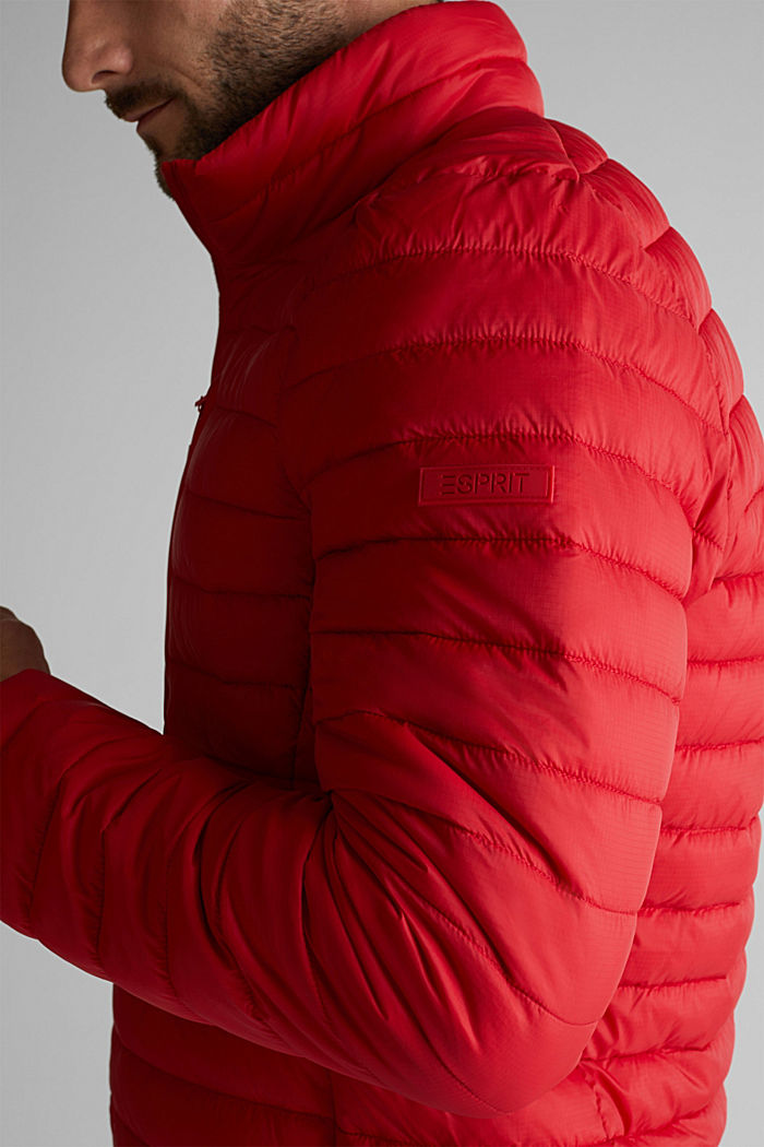 Quilted jacket with 3M™ Thinsulate™ filling, RED, detail image number 2