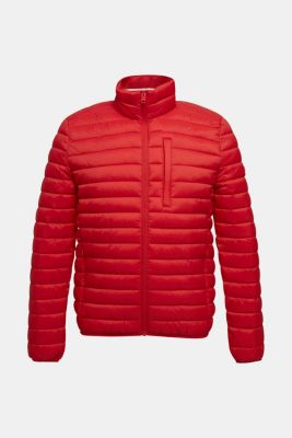 Quilted jacket with 3M™ Thinsulate™ filling, RED, detail