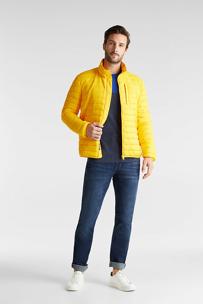 Quilted jacket with 3M™ Thinsulate™ filling, YELLOW, detail image number 1