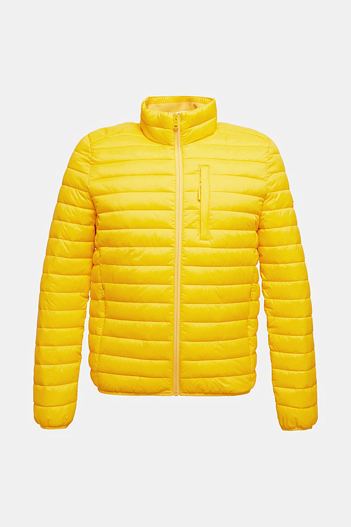 Quilted jacket with 3M™ Thinsulate™ filling, YELLOW, detail image number 6