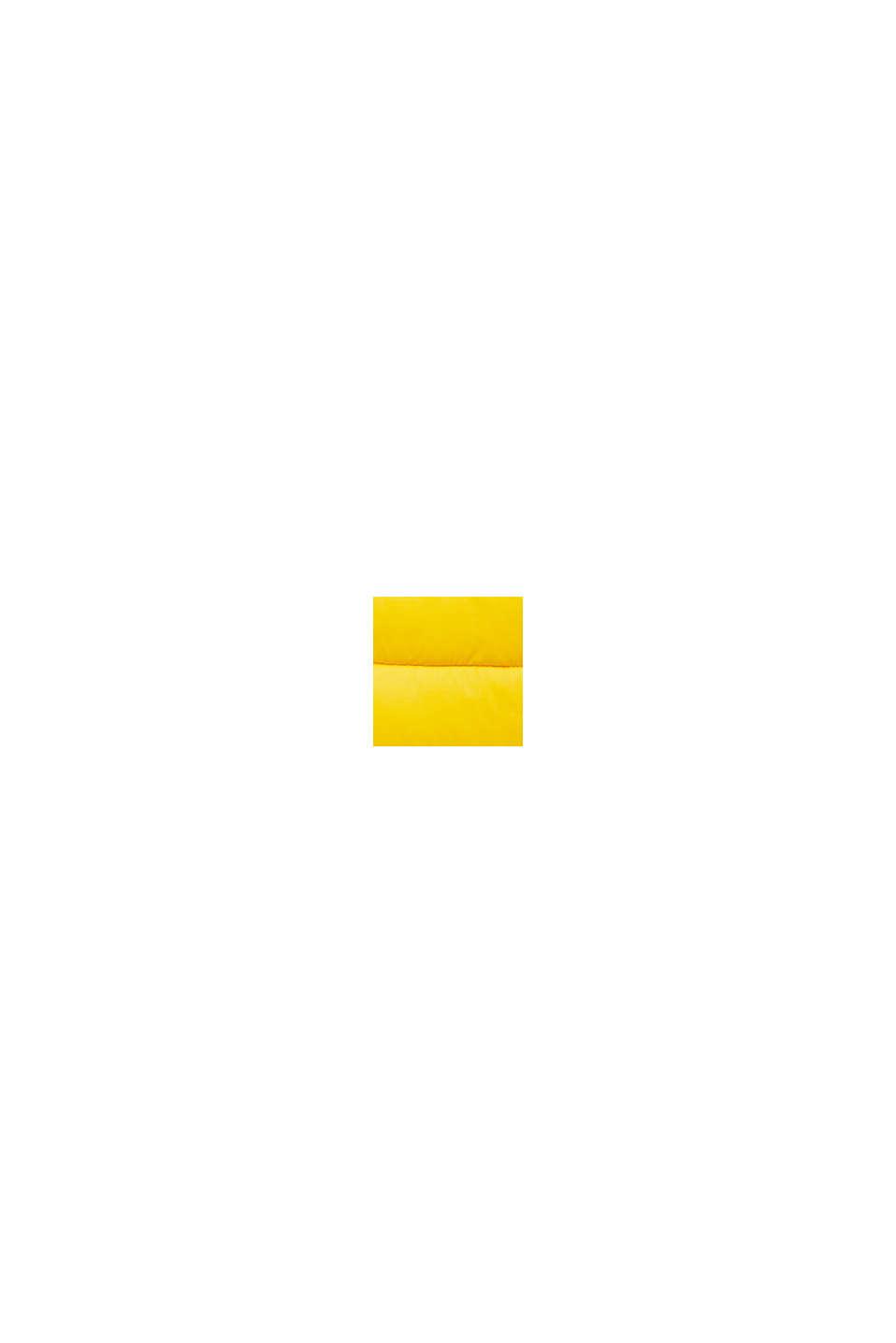 Recycelt: Steppjacke mit 3M™ Thinsulate™, YELLOW, swatch
