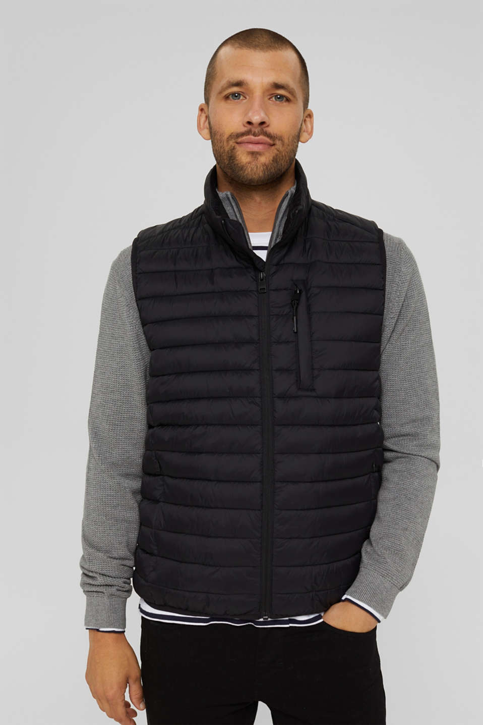 Esprit - Quiltet vest 3M™Thinsulate™