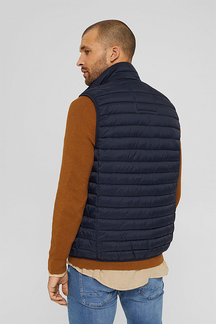 Quilted bodywarmer made of 3M™ Thinsulate™, DARK BLUE, detail image number 3