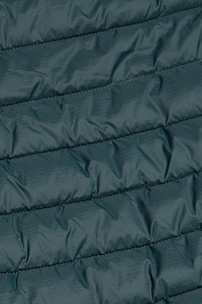 Kierrätettyä: tikkiliivi 3M™ Thinsulate™ -ominaisuuksilla, TEAL BLUE, detail image number 4
