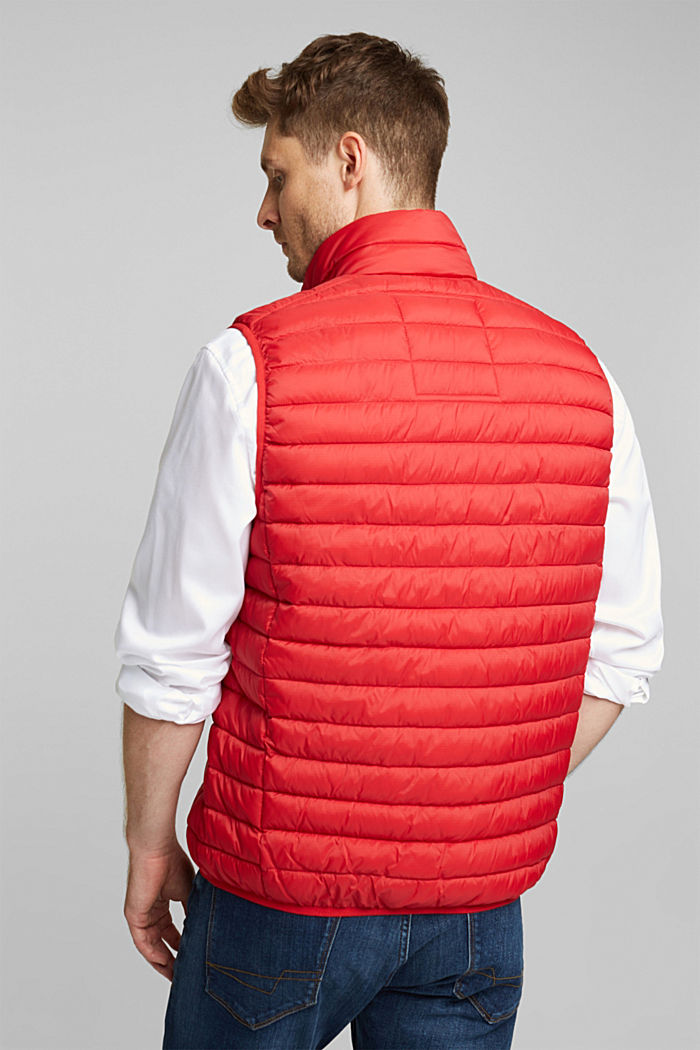 Quilted bodywarmer made of 3M™ Thinsulate™, RED, detail image number 3
