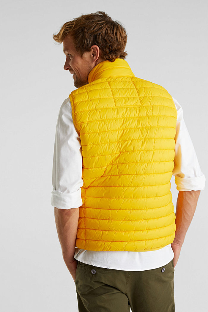 Quilted bodywarmer made of 3M™ Thinsulate™, YELLOW, detail image number 3