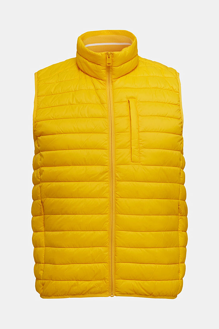 Quilted bodywarmer made of 3M™ Thinsulate™, YELLOW, detail image number 6