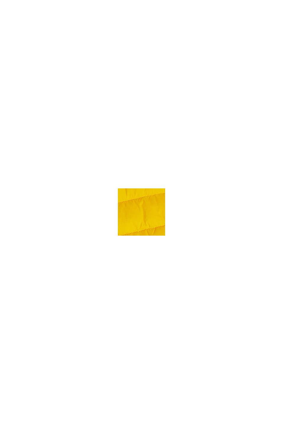 In materiale riciclato: gilet trapuntato con 3M® Thinsulate, YELLOW, swatch