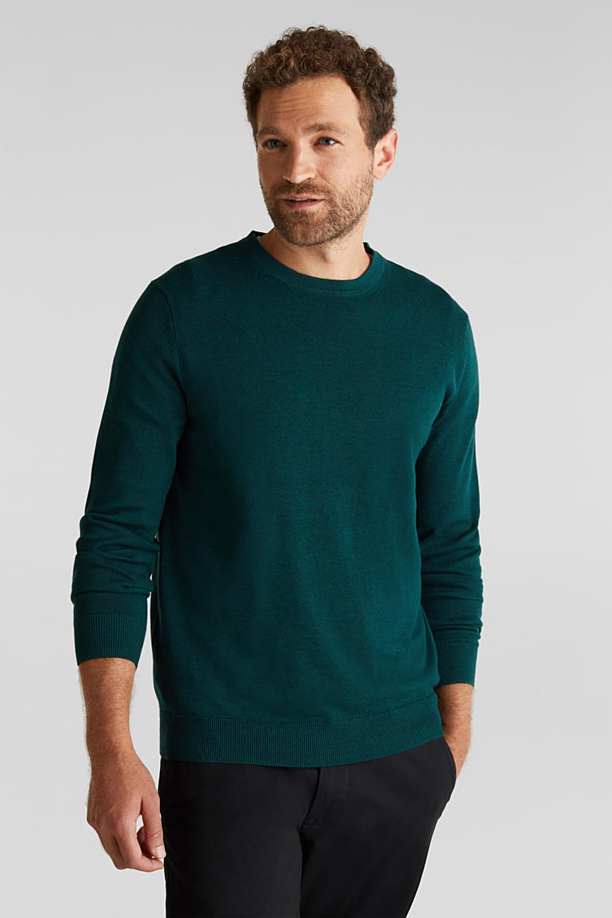 Jumper made of 100% organic pima cotton