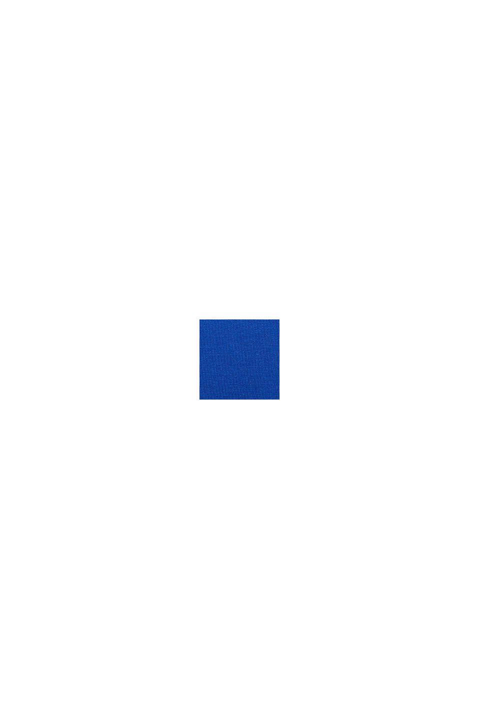 Jersey en 100% algodón ecológico Pima, BRIGHT BLUE, swatch
