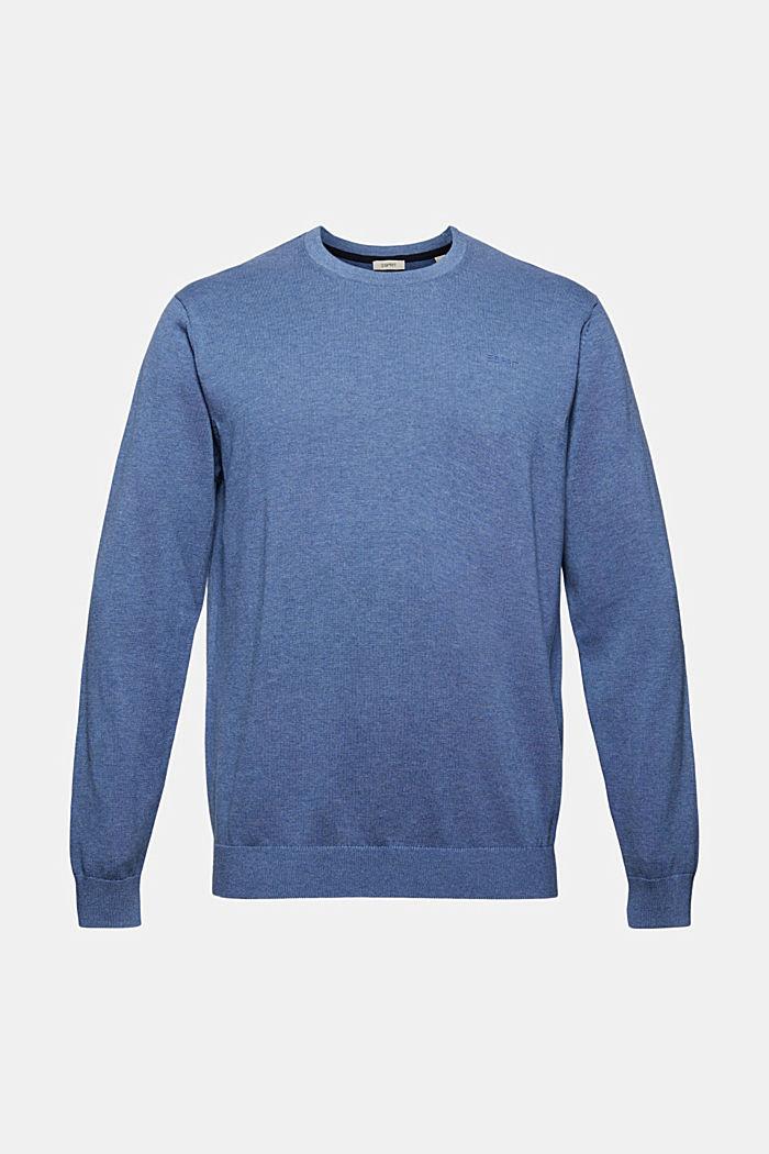 Pullover af 100% økologisk pimabomuld