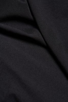 Jersey T-shirt in 100% cotton, BLACK, detail