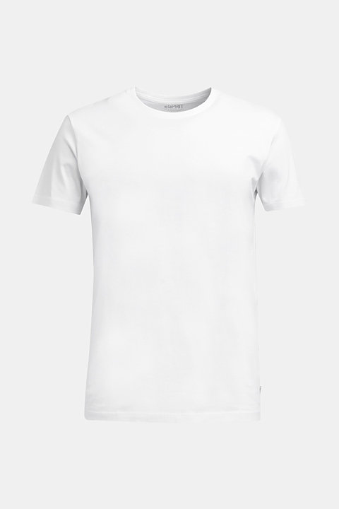 Jersey T-shirt in a basic look, 100% cotton