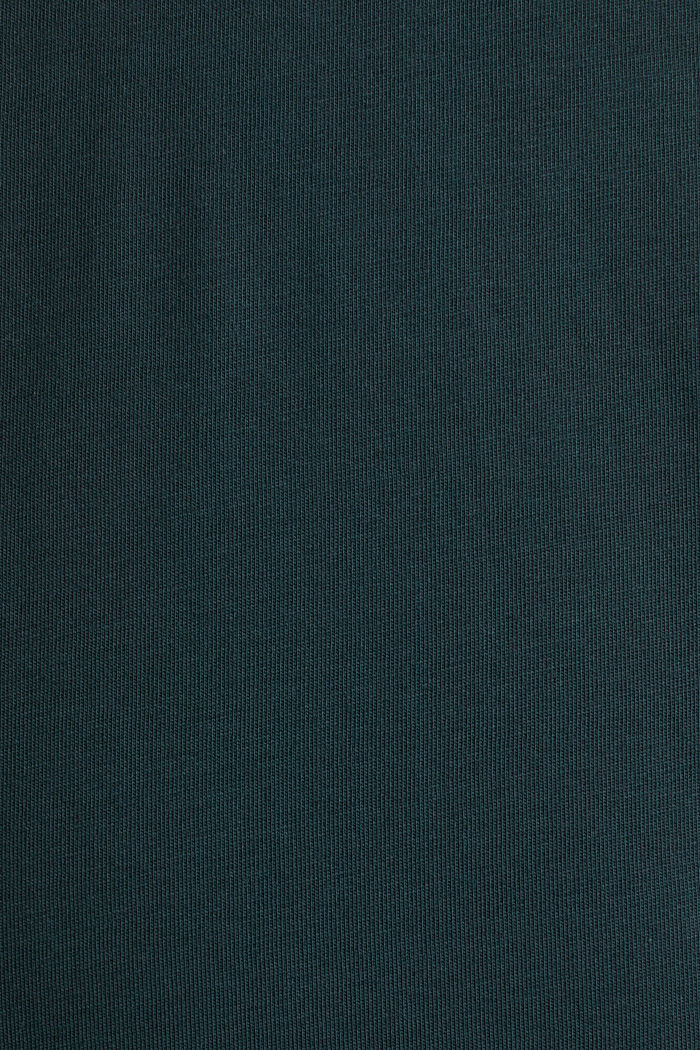 Jersey T-shirt in 100% cotton, TEAL BLUE, detail image number 5