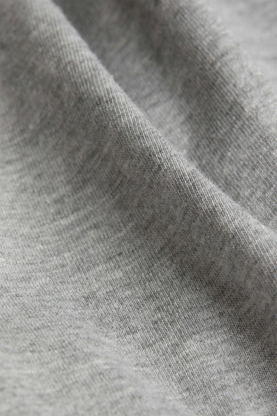 jersey T-shirt with a round neckline, MEDIUM GREY 5, detail image number 4