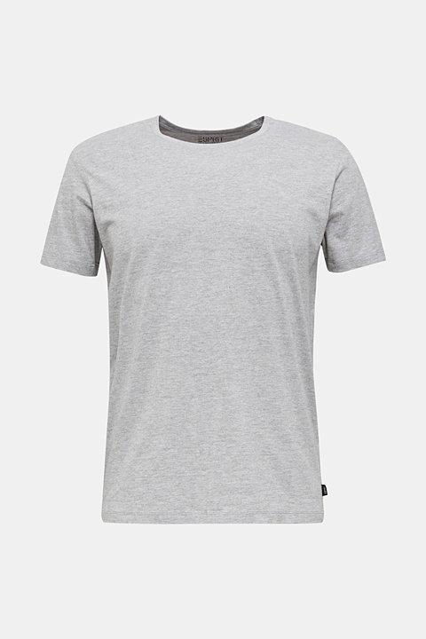jersey T-shirt with a round neckline
