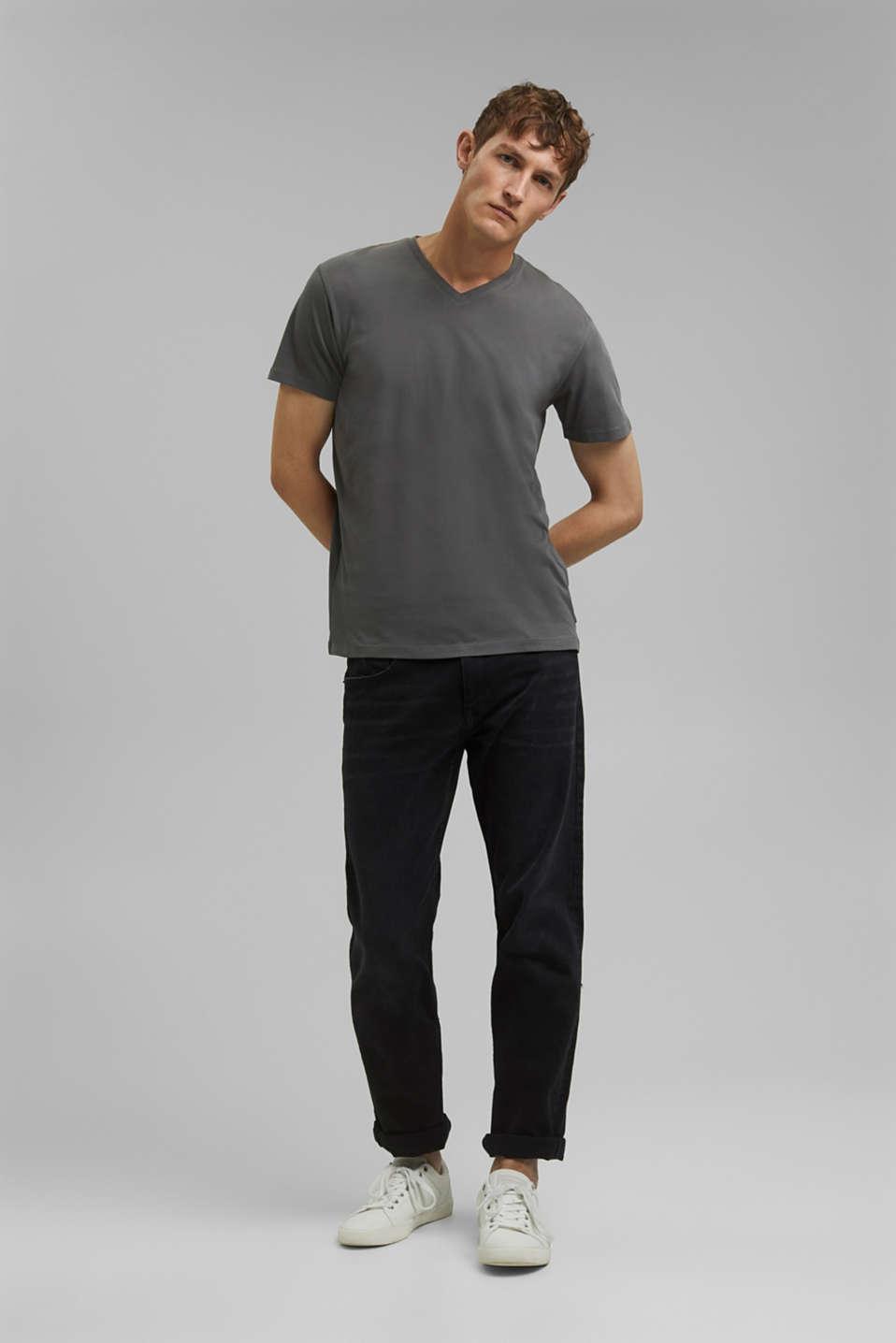 T-Shirts, DARK GREY, detail image number 2