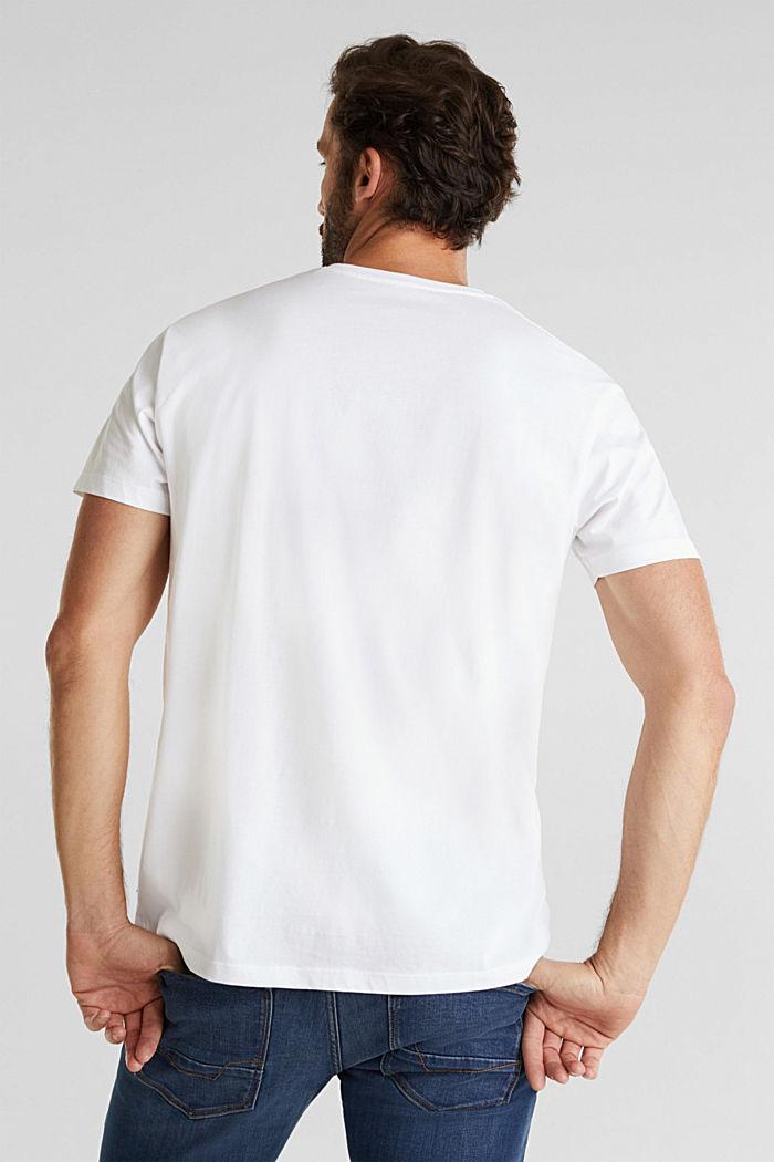 Camiseta de jersey en 100% algodón, WHITE, detail image number 3