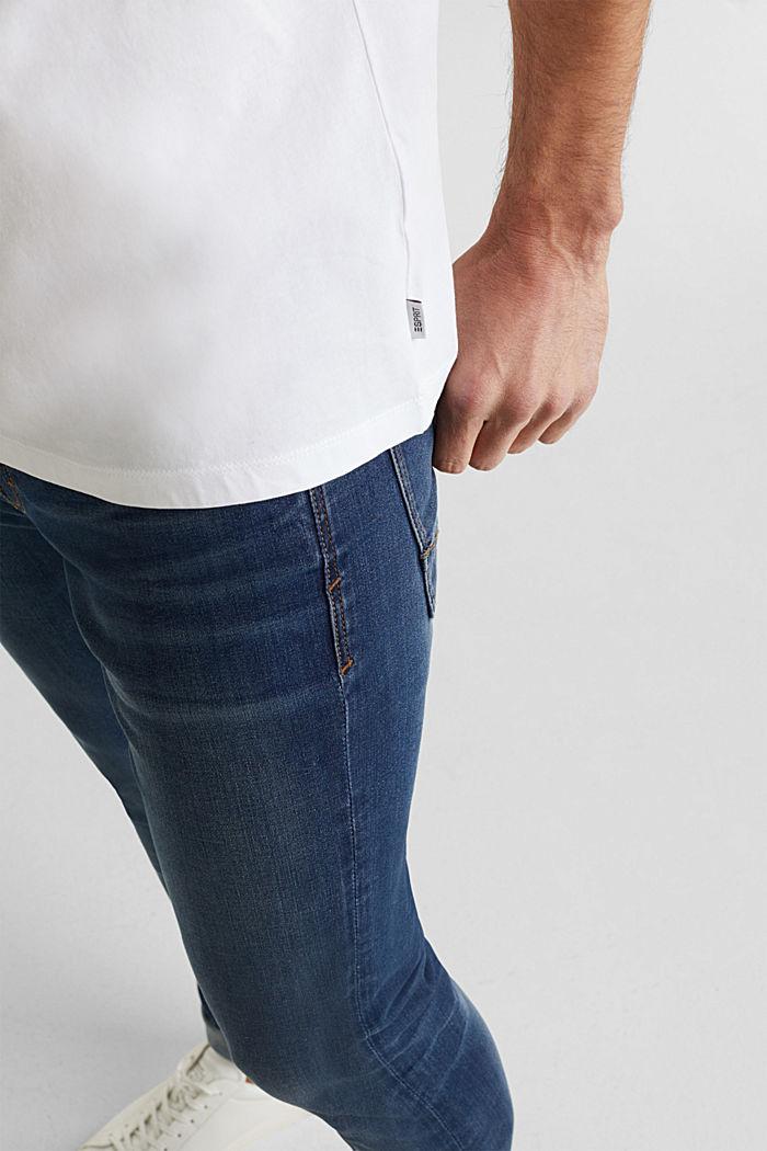 Camiseta de jersey en 100% algodón, WHITE, detail image number 1