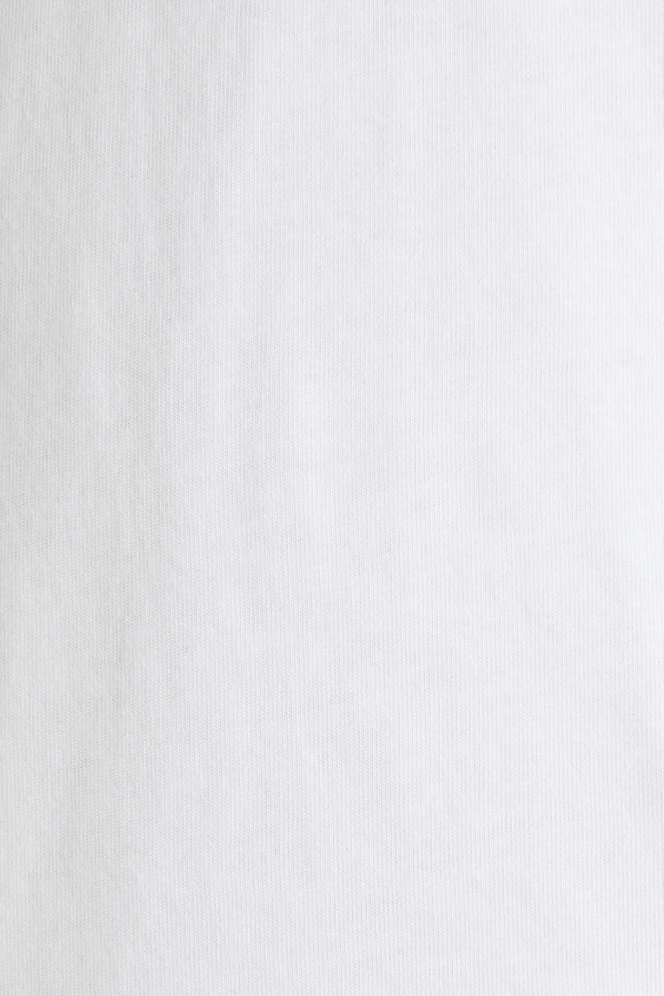 Jersey T-shirt in 100% cotton, WHITE, detail image number 5