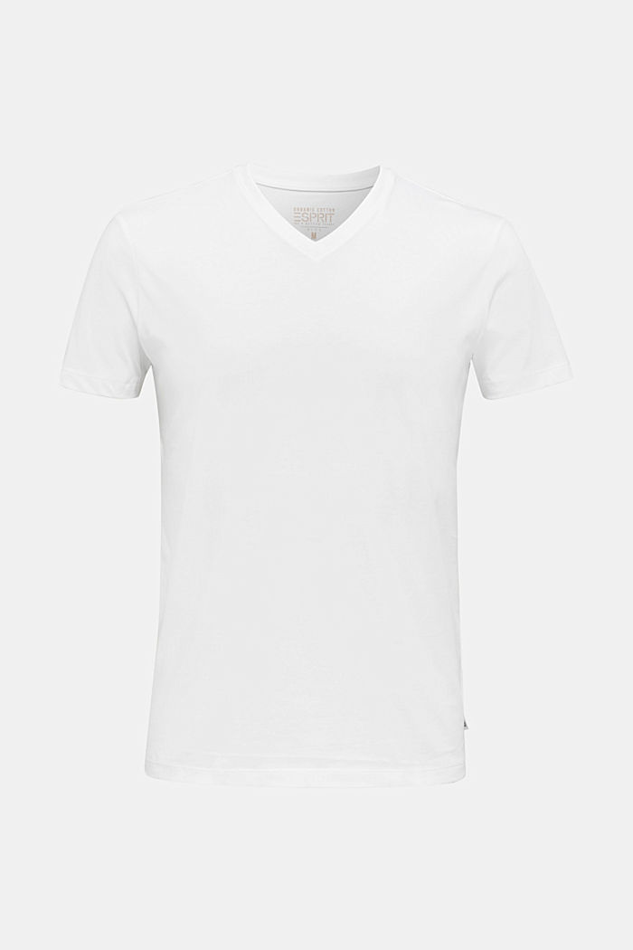 Jersey T-shirt in 100% cotton, WHITE, detail image number 7