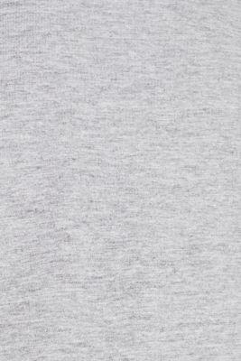 Jersey T-shirt with a V-neckline, MEDIUM GREY 5, detail