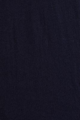 Jersey T-shirt with a logo print, 100% cotton, NAVY, detail