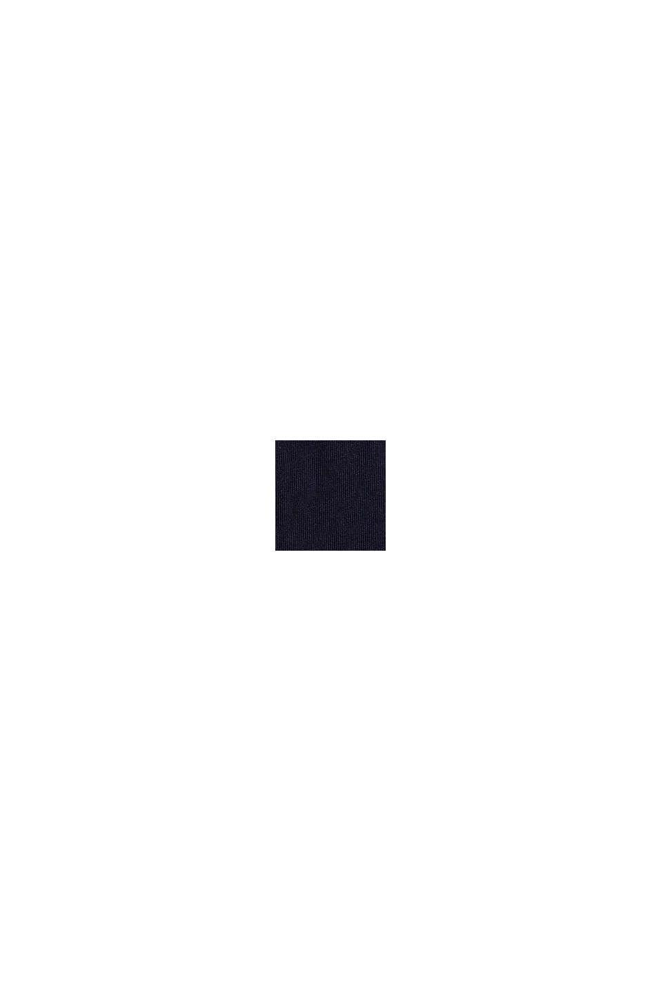 Logokuvioitu jersey-T-paita, 100 % puuvillaa, NAVY, swatch
