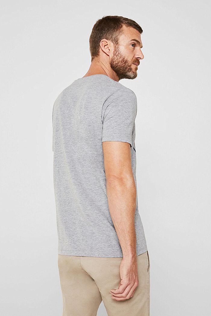 Jersey shirt met logoprint, MEDIUM GREY, detail image number 3