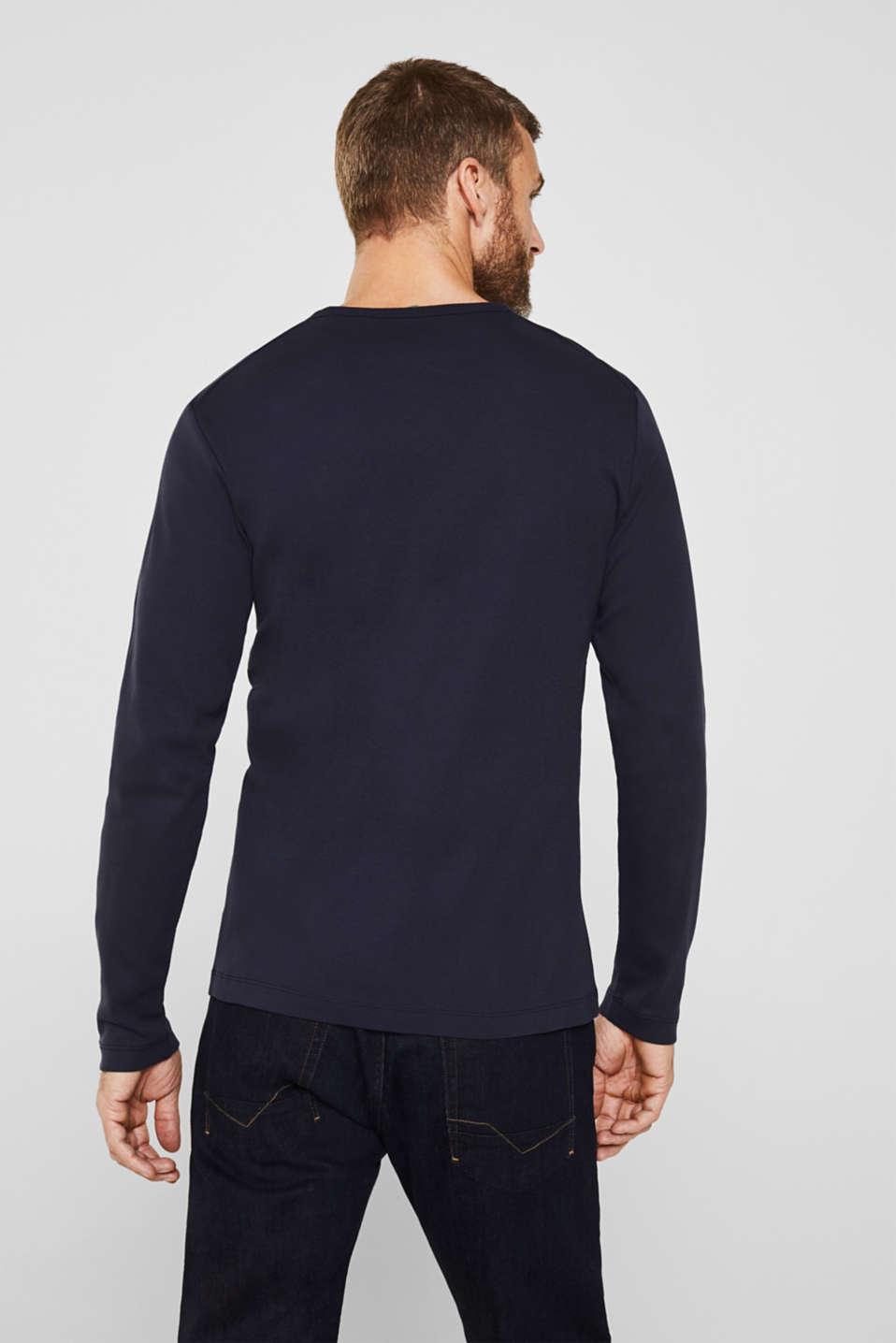 T-Shirts, NAVY, detail image number 3