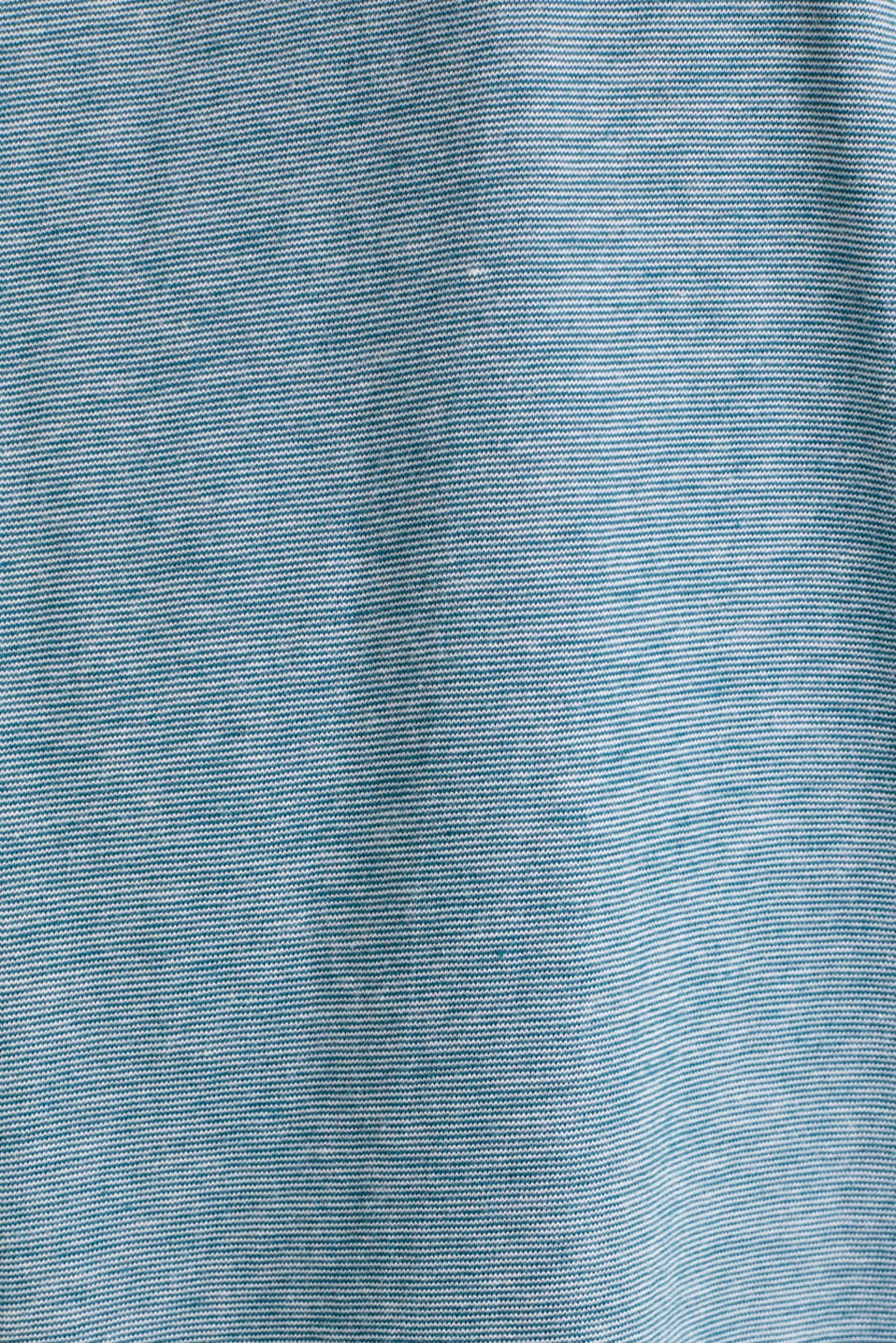 T-Shirts, PETROL BLUE 3, detail image number 4