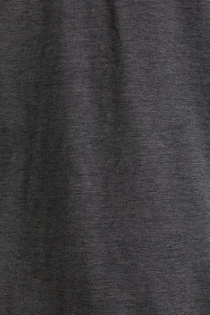Jersey T-shirt in 100% cotton, BLACK, detail image number 5